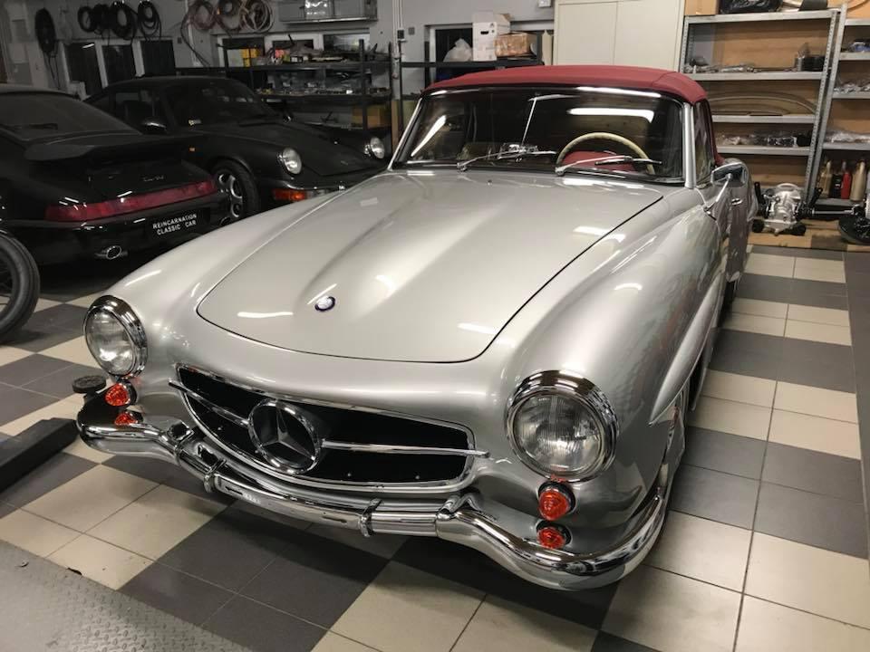 Mercedes 190 SL 1960r