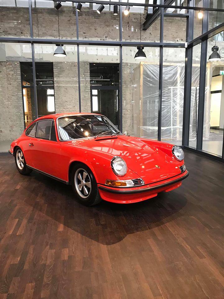 Porsche 911S 1968 full restoration